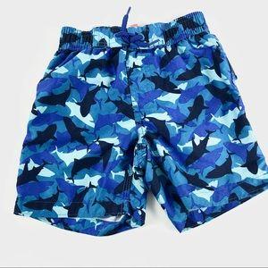 """🌻$2🌻 Joe Fresh """"sharks"""" swim shorts"""